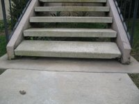 Exterior Concrete Stair Nosing Detail. material stair ...