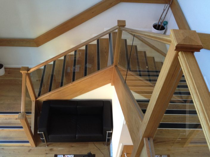 Oak Staircases traditional or contemporary stairs