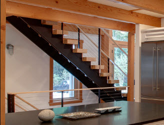 Straight Stairs Advantages and Disadvantages  StairsIdeascom