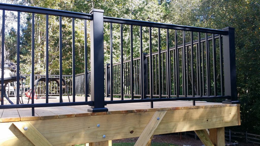 Aluminum Deck Railing  Stair Solution