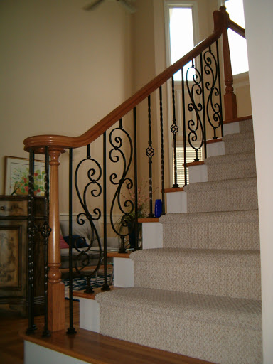 Twist  Basket Balusters  Stair Solution