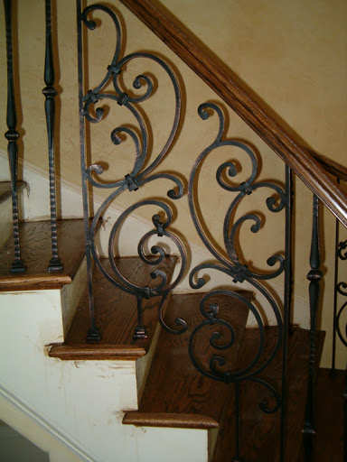 Iron Panel Styles  Stair Solution