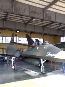 PZL-230 Skorpion - prototyp samolotu bojowego V generacji. Źródło: Wikipedia.