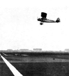Franciszek Źwirko wRWD-6 podczas próby prędkości - Berlin 1932 - Źródło Wikipedia.