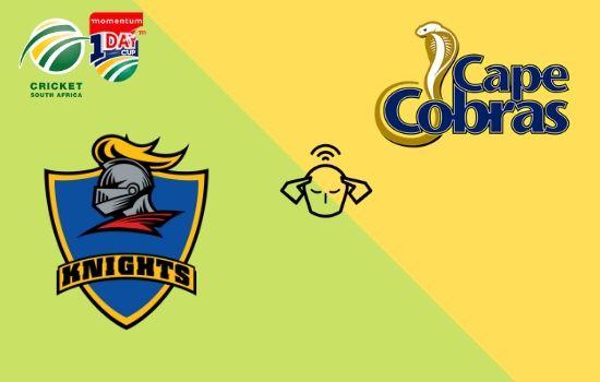 Cape Cobras vs Knights, Momentum ODI Cup 2020, Match Prediction Today