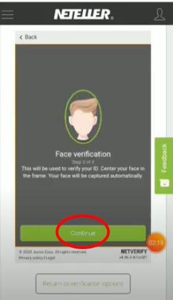 Face verification foe Video KYC
