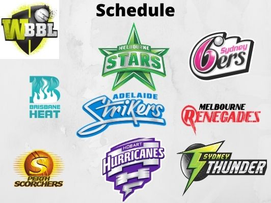 Womens Big Bash League 2020, T20 Schedule