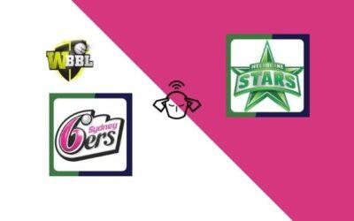 Melbourne Stars vs Sydney Sixers, Women's Big Bash League 2020 | 55th T20 Match Prediction