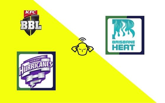 Hobart Hurricanes vs Brisbane Heat, Big Bash League 2020-21   20th T20 Match Prediction