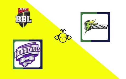 Hobart Hurricanes vs Sydney Thunder, Big Bash League 2020-21 | 31st T20 Match Prediction