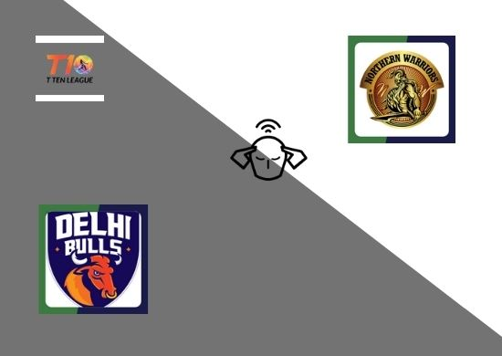 Delhi Bulls vs Northern Warriors, T10 League 2021, Final Match Prediction