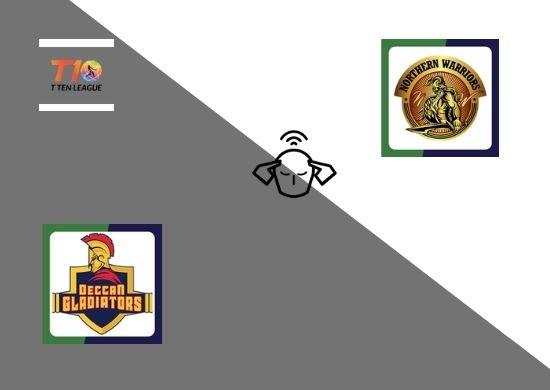Northern Warriors vs Deccan Gladiators, Super League, T10 League 2021, 18th Match Prediction
