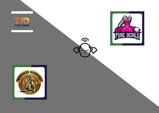 Northern Warriors vs Pune Devils, Super League, T10 League 2021, 21st Match Prediction