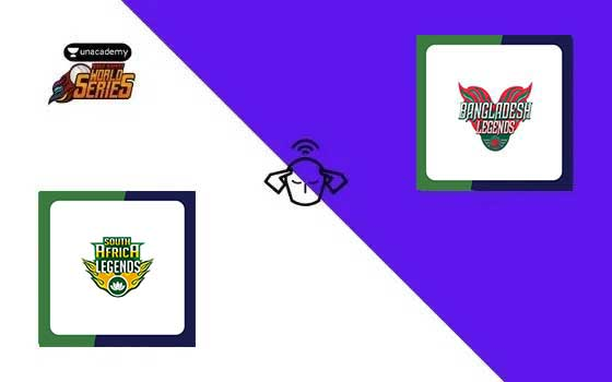 South Africa Legends vs Bangladesh Legends, Road Safety World Series T20 2020-21, 15th T20 Match Prediction