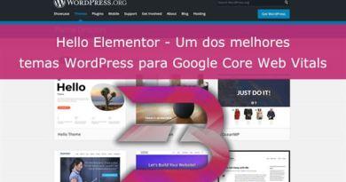 Review Tema Hello Elementor Core Web Vitals
