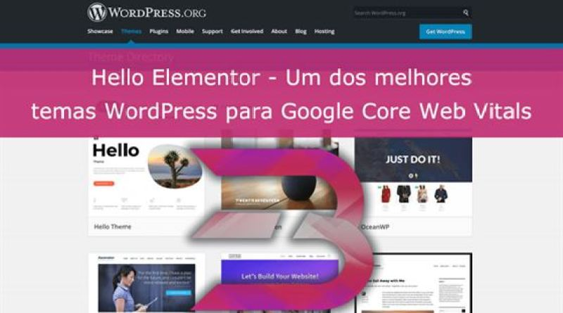 Review Tema Hello Elementor Core Web Vitals