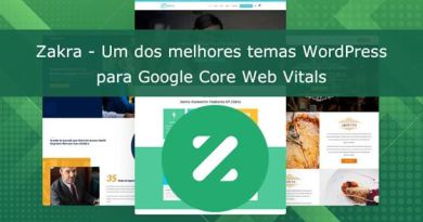 Review Tema Zakra Core Web Vitals
