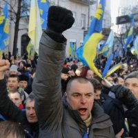Peaceful to Violent: Protests in Kiev