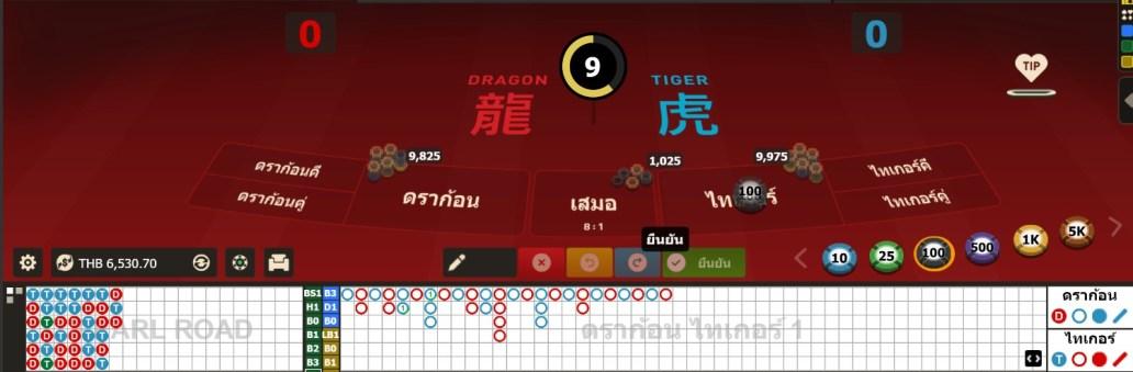 โต๊ะ dragon tiger