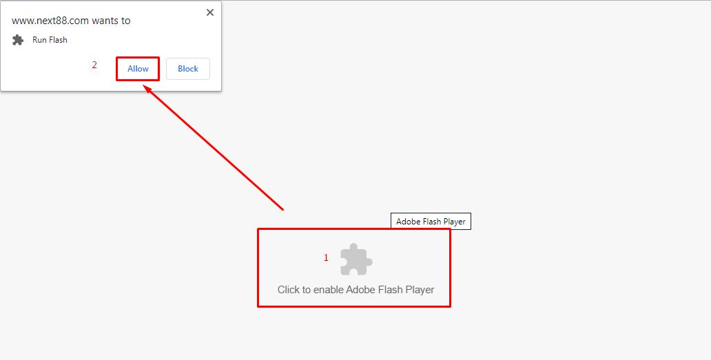 กดอนุญาต Adobe Flsh Player - สล็อต 5 รีล