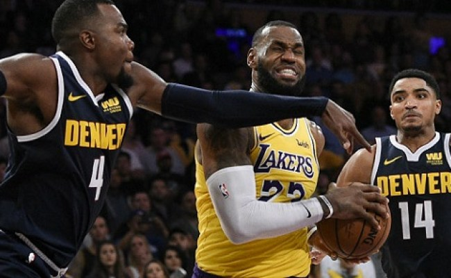 Nba Denver Nuggets Vs Los Angeles Lakers Preview And