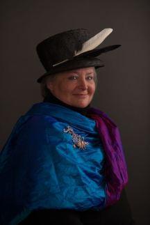 Arabella McIntyre-Brown, English author, Transylvania, Romania