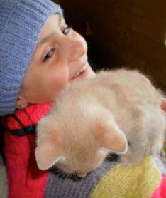 Buster kitten was Georgi's favourite