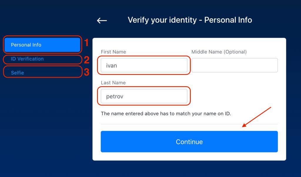 Verifica dell'Account