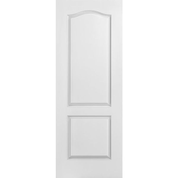 2 Panel Arch-Top Moulded Interior Door