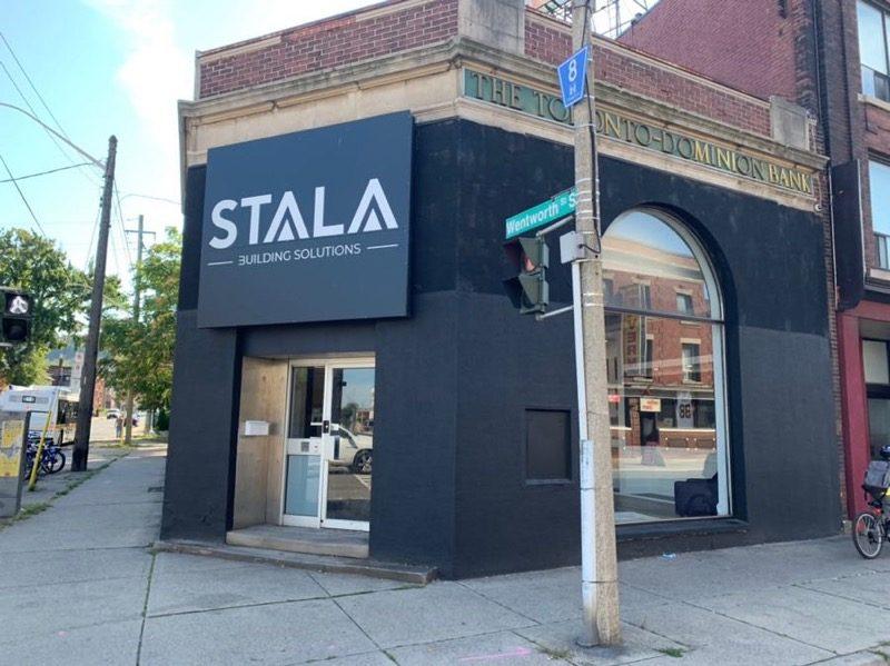 Stala Building Solutions Storefront in Hamilton Ontario