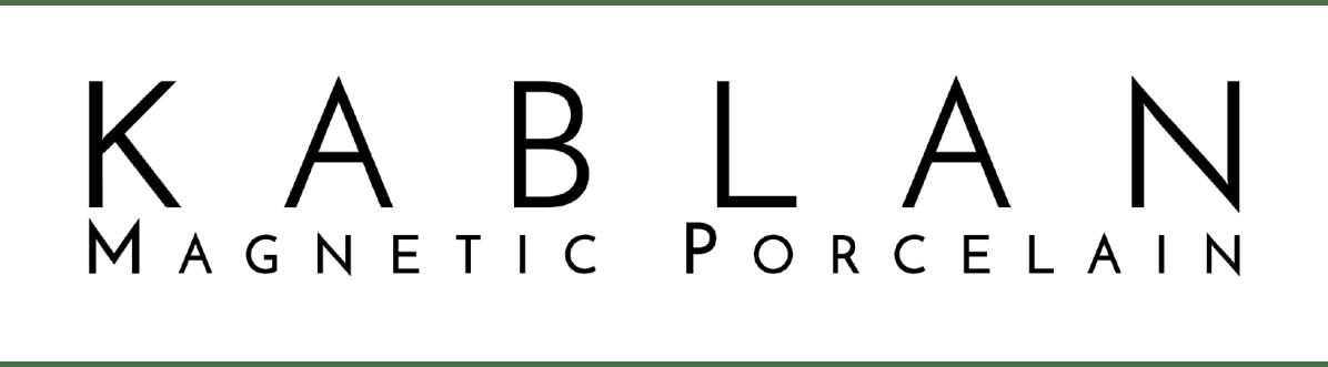 Kablan Magnetic Porcelain Logo