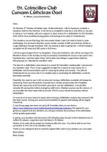 Appeal for Lake Kielder Walk