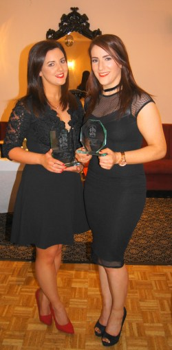 Manager's Player & Players' Player of The Year 2016 - Emma McGirr & Fiona Kennedy
