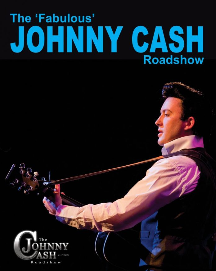 Johnny Cash Roadshow brochure Image 2014
