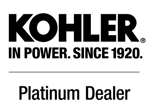 KOHLER® Generator Platinum Sales and Service Dealer