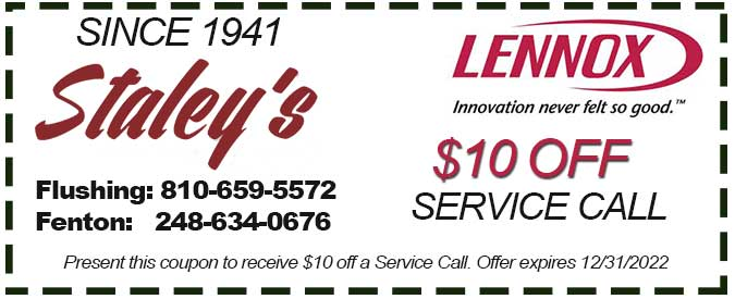 service call coupon for plumbing heating or air conditioning service