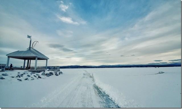 lac gelée Québec