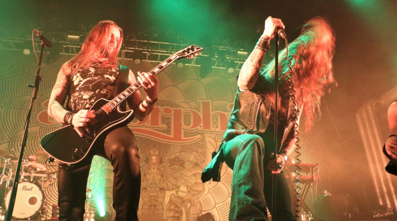 Amorphis / Soilwork / JinJer / Nailed to Obscurity @ Z7