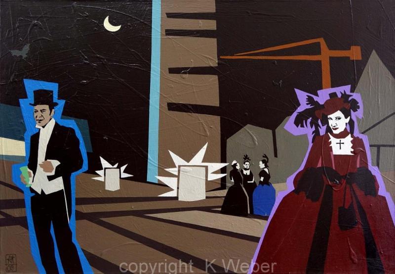 Wave Gotik Treffen, 2009, acryl