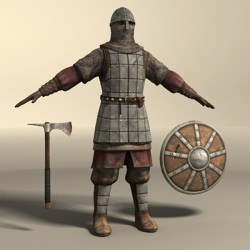 medieval warrior 3d europe medievel history models turbosquid warior figure cgstudio 3ds max artist 4ff1 b4aa 505a