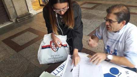 In Sardegna le donne firmano in sostegno al DDL