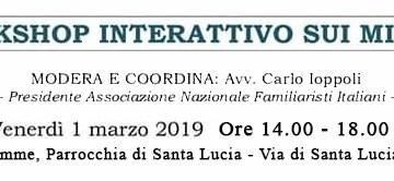 A Roma, venerdì, un incontro da non perdere