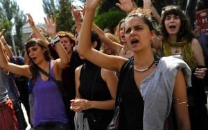 SPAIN-POLITICS-PROTEST