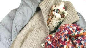 クリスマス柄スカーフ