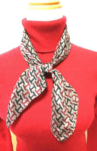 タートルとスカーフ