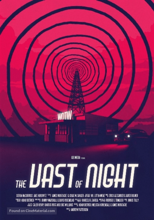 "The Vast of Night"" Poster and Trailer are Here! – Craig Zablo"