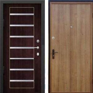 двери мталлические мдф с молдингом