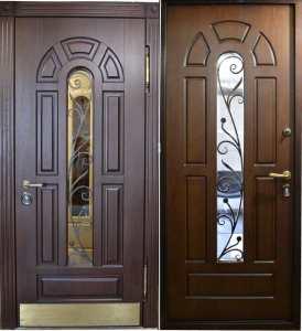 двери входные с ковкой под заказ