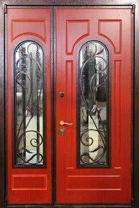 дверь+в дом со стеклом