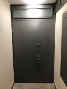 дверь мталлическая тамбурная порошковое напыление купить